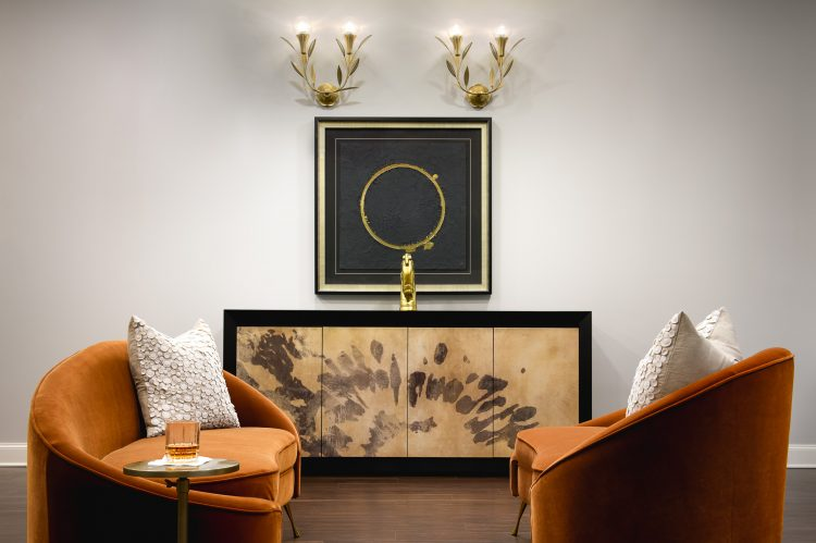 Elegant Lobby Seating Area, Commercial Interior Design & Architecture, Commercial Photography by Daniel Green, Atlanta, GA